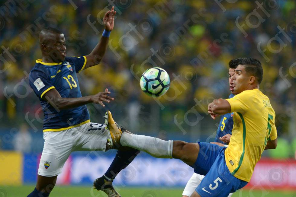 ELIMINATORIAS COPA DO MUNDO-RUSSIA-2018- BRASIL X EQUADOR
