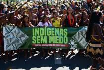 PROTESTO INDÍGENAS EM BRASÍLIA-DF