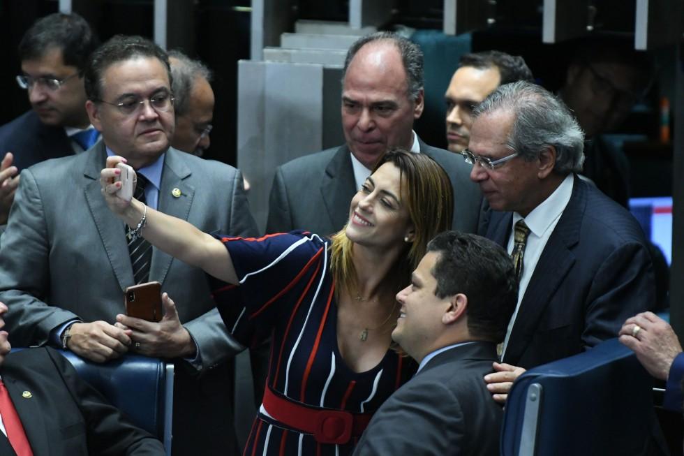 PLENÁRIO SENADO FEDERAL-VOTAÇÃO SEGUNDO TURNO DA NOVA PREVIDÊNCIA