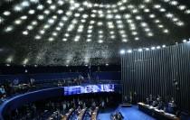 Plenario Senado Federal-Votacao segundo turno da Nova Previdenci