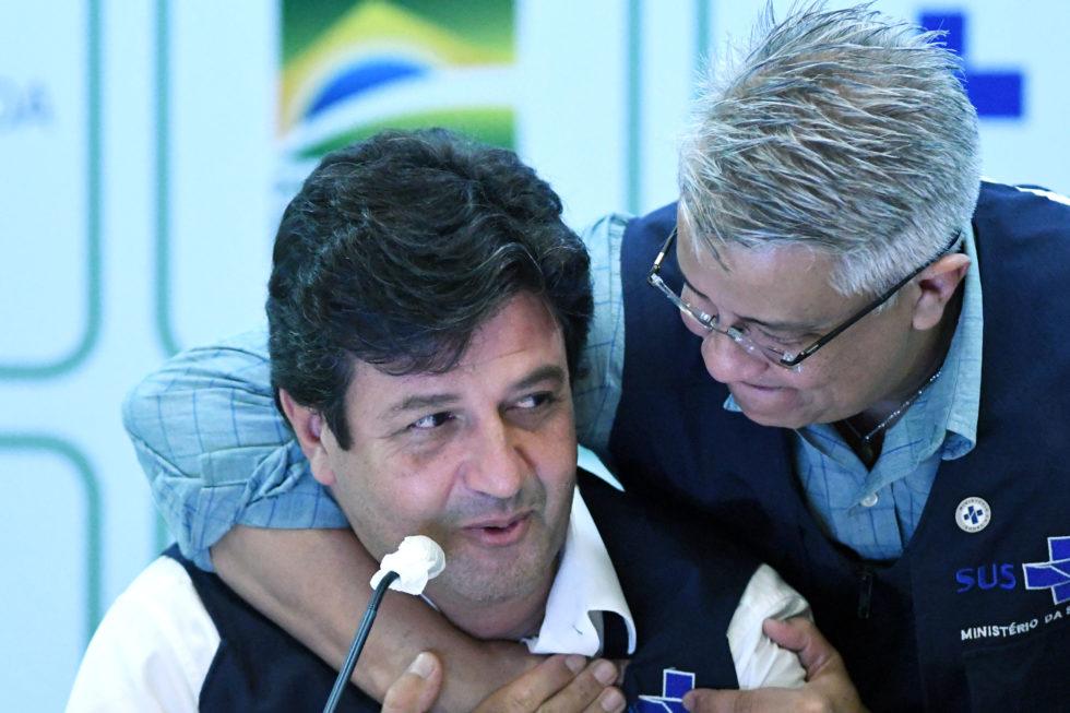 DESPEDIDA DO MINISTRO DA SAÚDE, LUIZ HENRIQUE MANDETTA