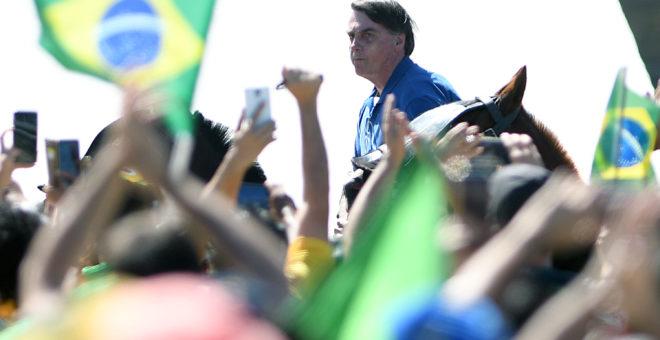 ATO A FAVOR DO PRESIDENTE DO BRASIL, JAIR BOLSONARO