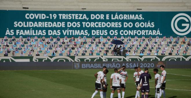 GOIÂNIA, GO, 09.08.2020- CAMPEONATO BRASILEIRO FUTEBOL