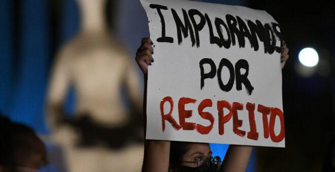 BRASÍLIA, DF, 04.11.2020- PROTESTO CASO MARI FERRER-STF
